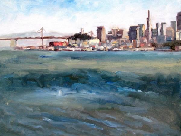 Sausalito Painting - San Francisco From Marin by Deborah Cushman