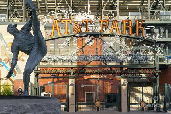 Photograph - San Francisco Giants Att Park Juan Marachal O'doul Gate Entrance Dsc5790 by Wingsdomain Art and Photography