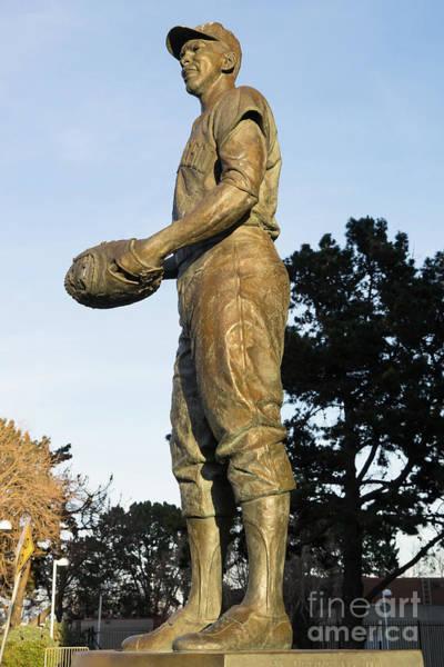 Photograph - San Francisco Giants Att Park Orlando Cepeda Statue Dsc5839 by Wingsdomain Art and Photography
