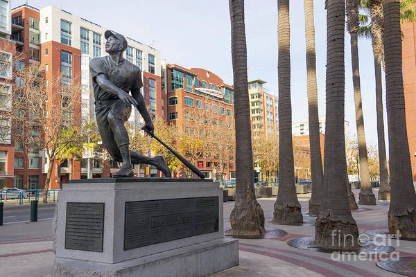 National Baseball Hall Of Fame Photograph - San Francisco Giants Att Park Willie Mays The Say Hey Kid Dsc579 by San Francisco Art and Photography