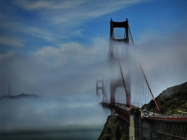 Photograph - San Francisco - Golden Gate Bridge 002 by Lance Vaughn