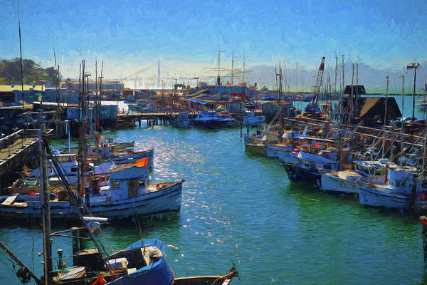 Photograph - San Francisco Harbor Impressions by Greg Norrell