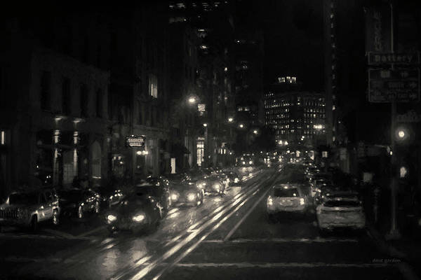 Photograph - San Francisco Night I Toned by David Gordon