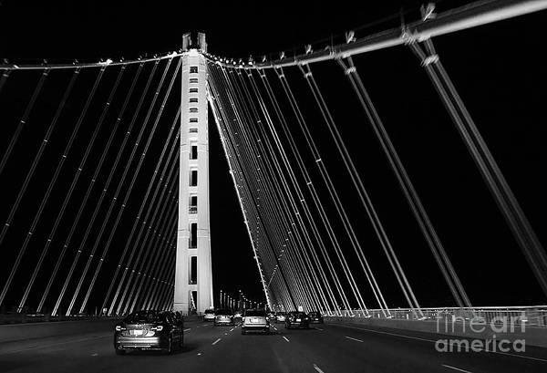 Wall Art - Photograph - San Francisco Oakland Bay Bridge by Jennifer Ramirez
