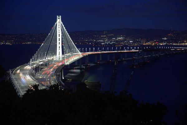 Photograph - San Francisco Oakland Bay Bridge by John King