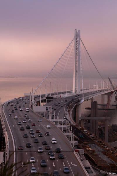 Photograph - San Francisco Oakland Bridge by Alexander Fedin