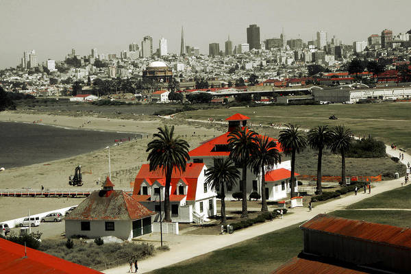 Photograph - San Francisco Panorama 2015 by Peter Potter
