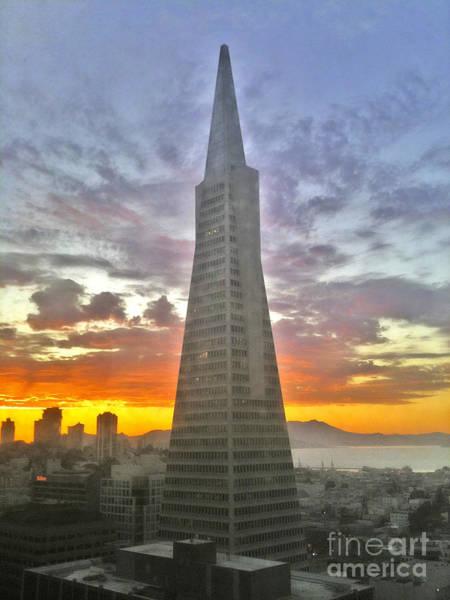 San Francisco Pyramid Art Print