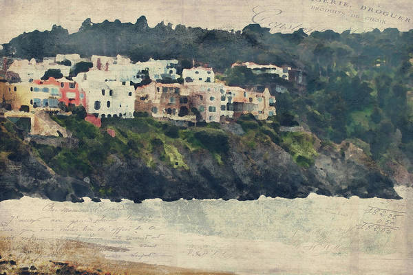 Digital Art - San Francisco Shores by Renee Hong