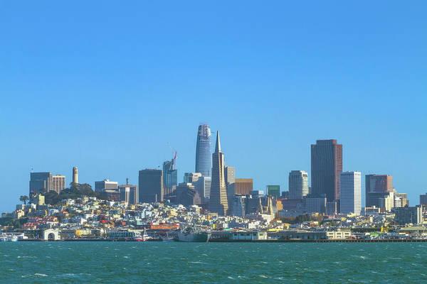 Photograph - San Francisco Skyline 2017 by Bonnie Follett