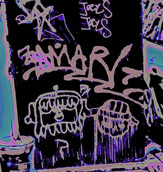 Photograph - San Francisco Street Graffiti Sign by Gina O'Brien