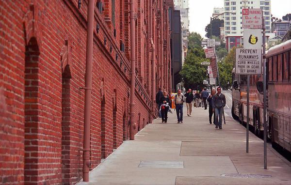 Photograph - San Francisco Street Scene by Frank Romeo