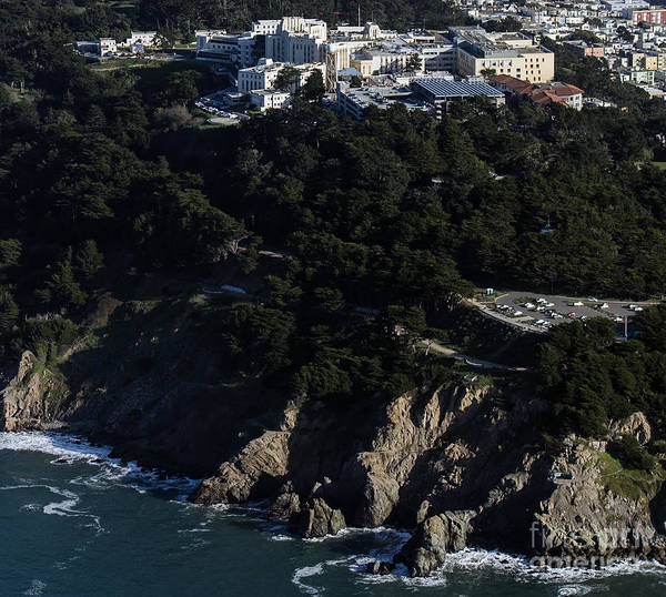 Misson Photograph - San Francisco Va Medical Center Aerial Photo by David Oppenheimer