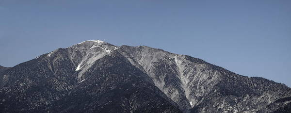 San Gabriel Mountains Art Print