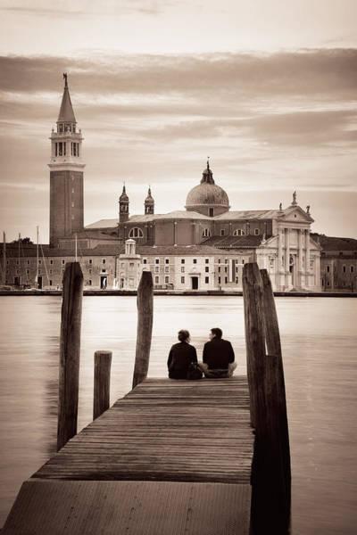 Photograph - San Giorgio Maggiore Church Lover by Songquan Deng