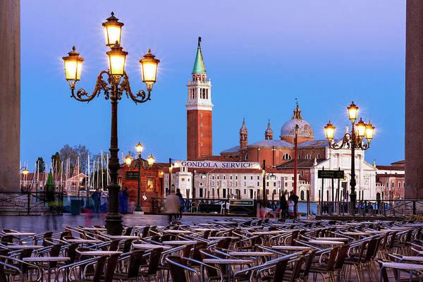 Photograph - San Giorgio Maggiore From Piazza San Marco - Venice by Barry O Carroll