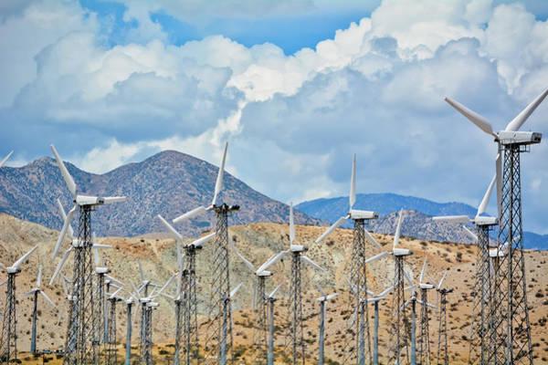 Photograph - San Gorgonio Pass Wind Farm by Kyle Hanson