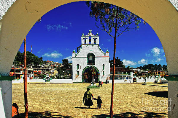 Photograph - San Juan Chamula Church In Chiapas, Mexico by Sam Antonio Photography