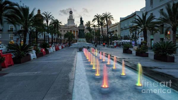 Photograph - San Juan De Dios Plaza Cadiz Spain by Pablo Avanzini