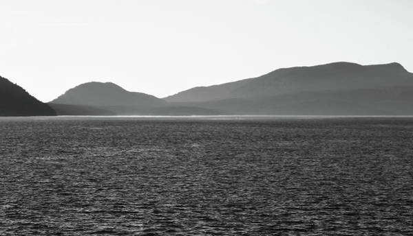 Photograph - San Juan Islands Black And White by Dan Sproul