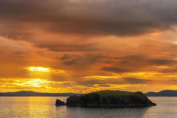 Wall Art - Photograph - San Juan Islands Golden Hour by Ryan Manuel
