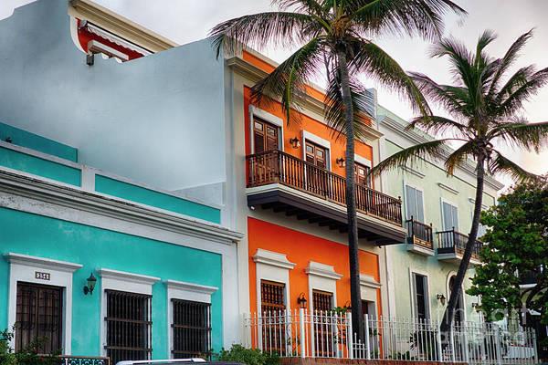 Wall Art - Photograph - San Juan Street Colors by George Oze