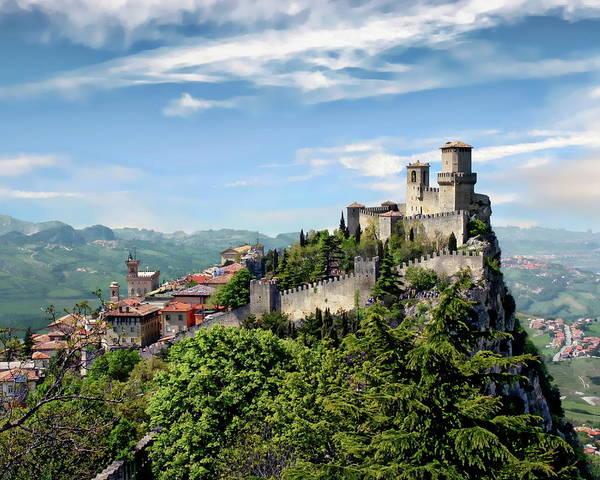 Photograph - San Marino Panorama by Anthony Dezenzio