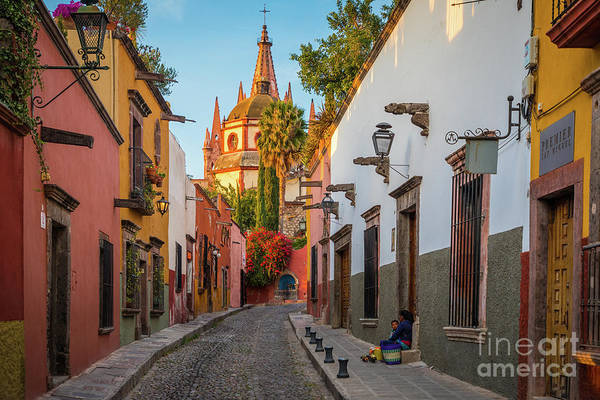 Wall Art - Photograph - San Miguel Calle Bonita by Inge Johnsson