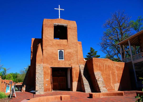 Photograph - San Miguel Chapel In Santa Fe by Susanne Van Hulst