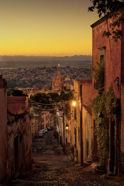 San Miguel De Allende Wall Art - Photograph - San Miguel De Allende Sunset by Dusty Demerson