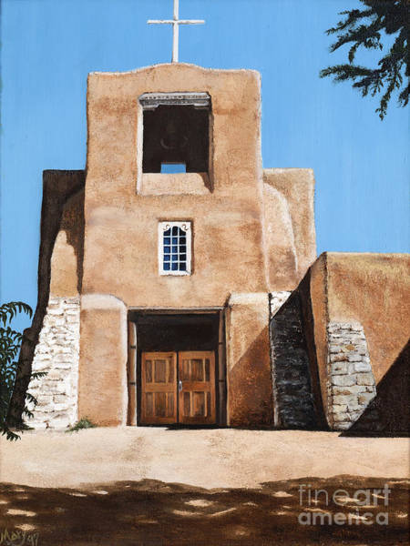Mary Rogers Painting - San Miguel by Mary Rogers