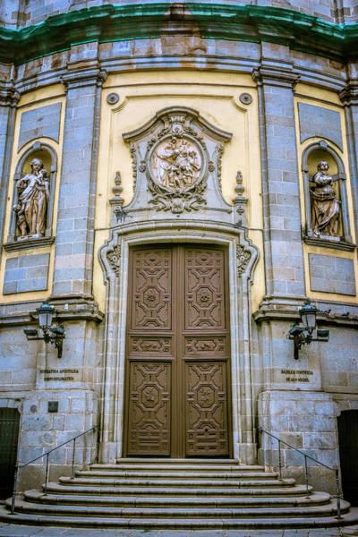Photograph - San Miguel Portal Madrid Spain by Joan Carroll