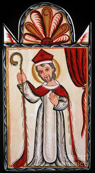 San Nicolas - St. Nicholas - Aosni Art Print