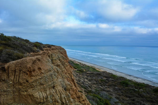 Photograph - San Onofre State Beach Bluffs by Kyle Hanson