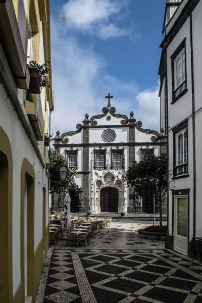 Photograph - San Pedro Church Street Scene by Sven Brogren