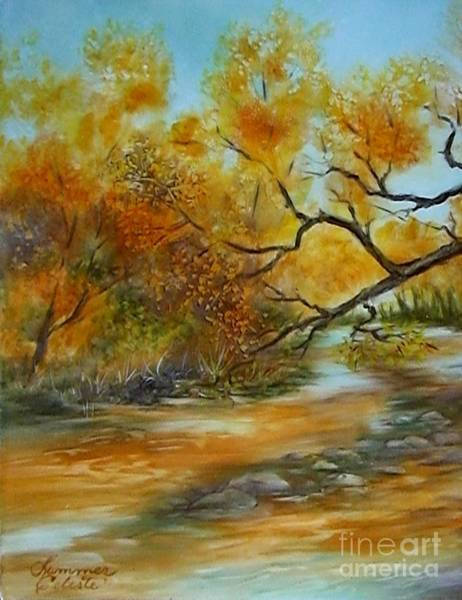 Painting - San Pedro River by Summer Celeste