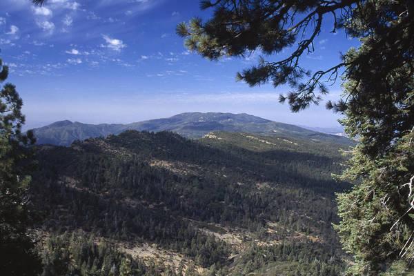 San Rafael Wilderness Photograph - San Rafael Mountains - From Big Pine Summit by Soli Deo Gloria Wilderness And Wildlife Photography