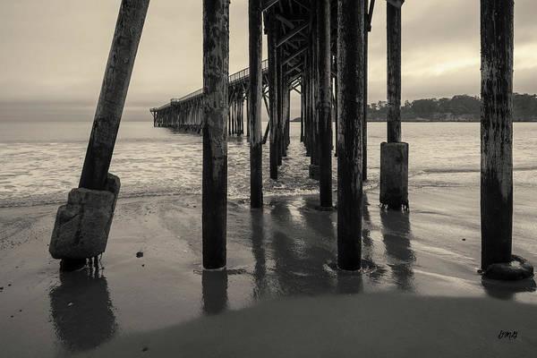 Photograph - San Simeon Pier I Toned by David Gordon