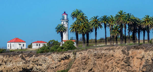 Point Vicente Wall Art - Photograph - Point Vicente Lighthouse by David A Litman