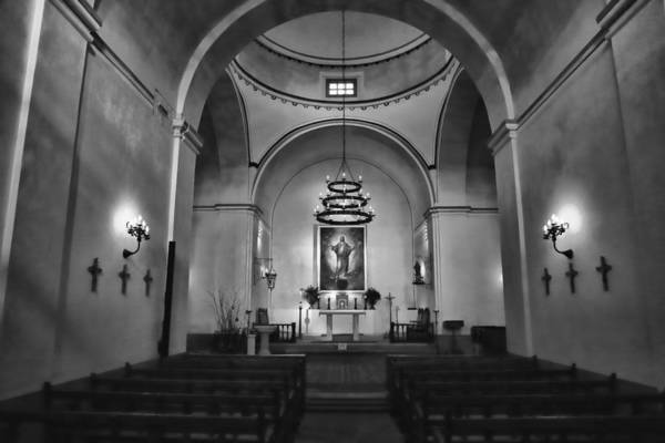 Spanish Missions Wall Art - Photograph - Sanctuary - Mission Concepcion No 1 by Stephen Stookey