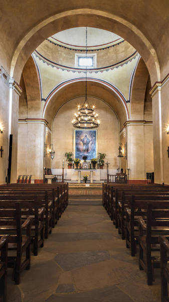 Spanish Mission Photograph - Sanctuary - Mission Concepcion No 3 by Stephen Stookey