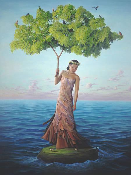 Magic Realism Painting - Sanctuary by Paul Bond