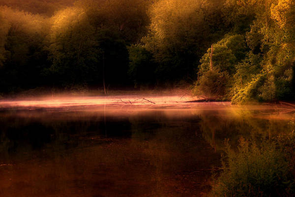 Atmospheric Photograph - Sanctuary by Tom Mc Nemar