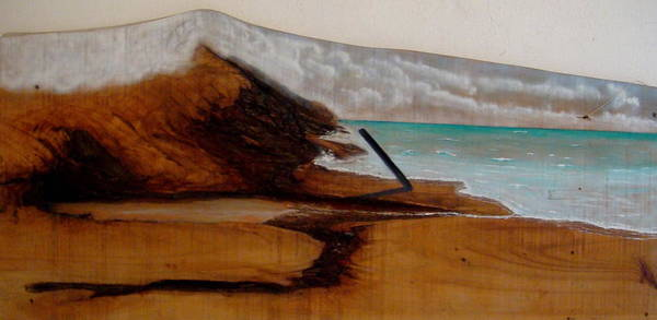 Painting - Sand And Sea by Eugene Foltuz