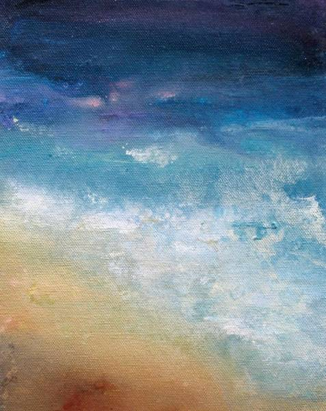 Wall Art - Painting - Sand And Sea by Karen Hale