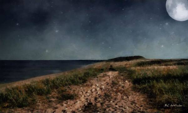 Painting - Sand And Stars by RC DeWinter