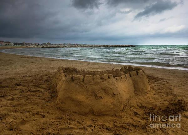 Photograph - Sand Castle by Marina Usmanskaya