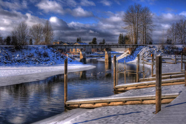 Photograph - Sand Creek Winter by Lee Santa