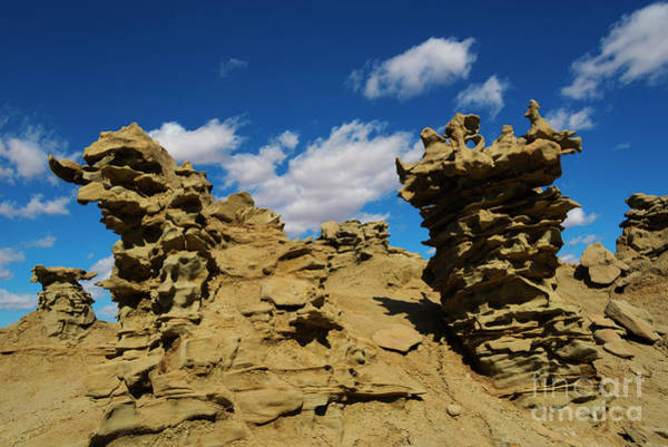 Hoodoos Photograph - Sand Demons by Mike Dawson