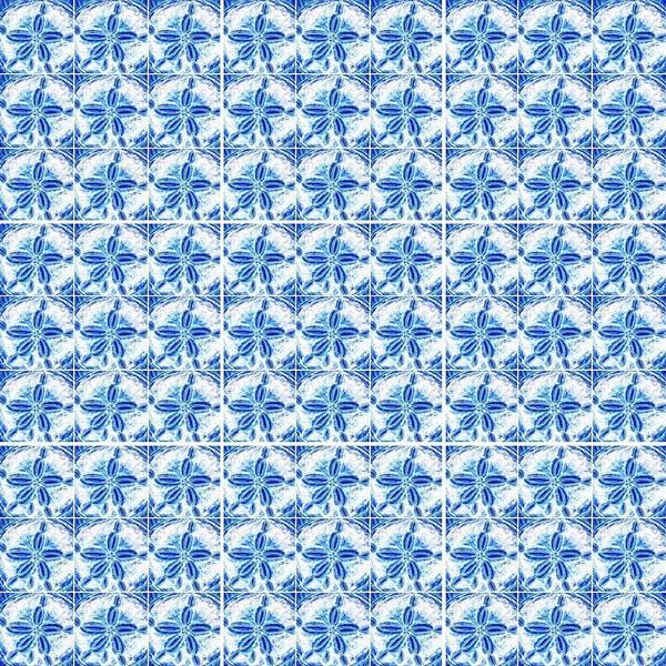 Sand Dollar Delight Pattern 1 Art Print